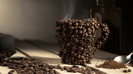 4K Coffee Grain Best Wallpaper