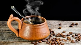 4K Coffee Grain Photo Download#1