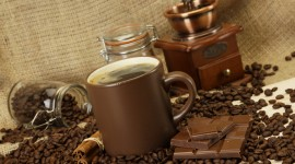 4K Coffee Grain Wallpaper For PC