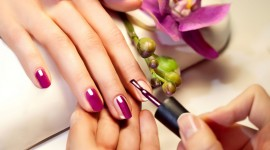 4K Painting Nails Photo Download