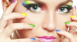 4K Painting Nails Wallpaper Free