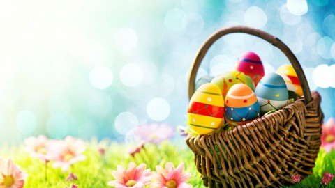 Baskets For Easter wallpapers high quality