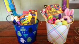 Baskets For Easter Photo