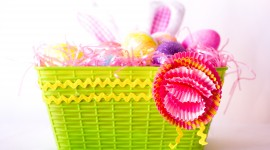 Baskets For Easter Photo Free