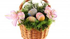 Baskets For Easter Wallpaper