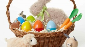 Baskets For Easter Wallpaper For Android#1