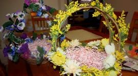 Baskets For Easter Wallpaper Full HD