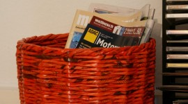 Baskets Of Newspapers Wallpaper For Mobile