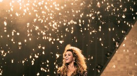 Beyonce On Stage Wallpaper For IPhone Free