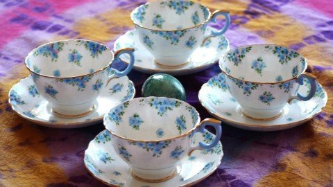 Blue Dishes wallpapers high quality