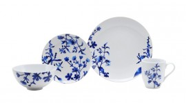 Blue Dishes Desktop Wallpaper For PC