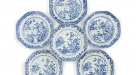 Blue Dishes Photo Free