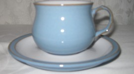 Blue Dishes Photo#1