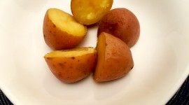 Boiled Potatoes Desktop Wallpaper