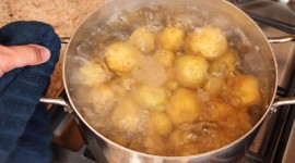 Boiled Potatoes Desktop Wallpaper For PC