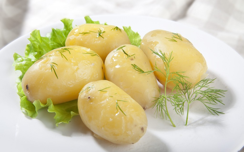 Boiled Potatoes wallpapers HD
