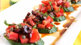 Bruschetta With Tomatoes Wallpaper Gallery
