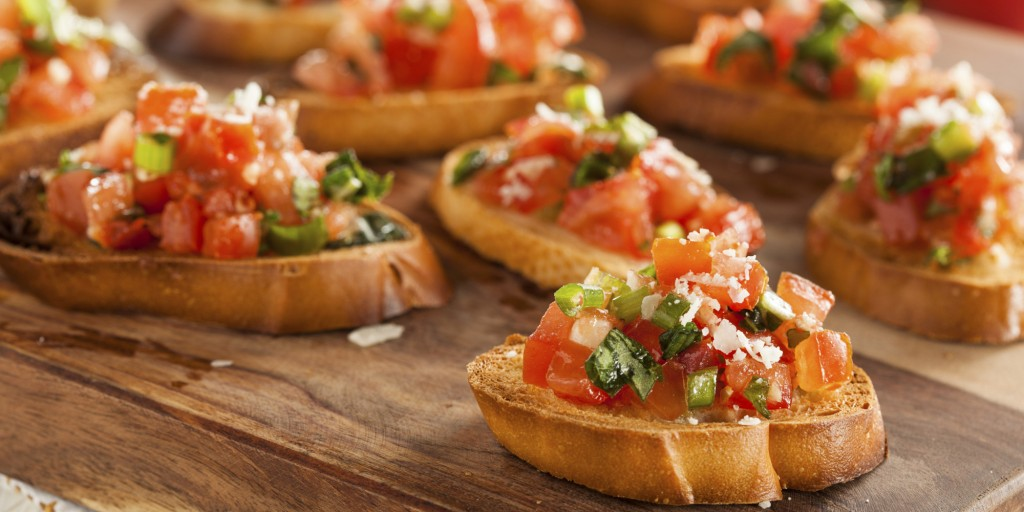 Bruschetta With Tomatoes wallpapers HD