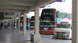Bus Station Desktop Wallpaper For PC