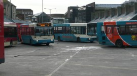 Bus Station Wallpaper 1080p