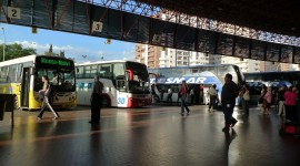 Bus Station Wallpaper For PC