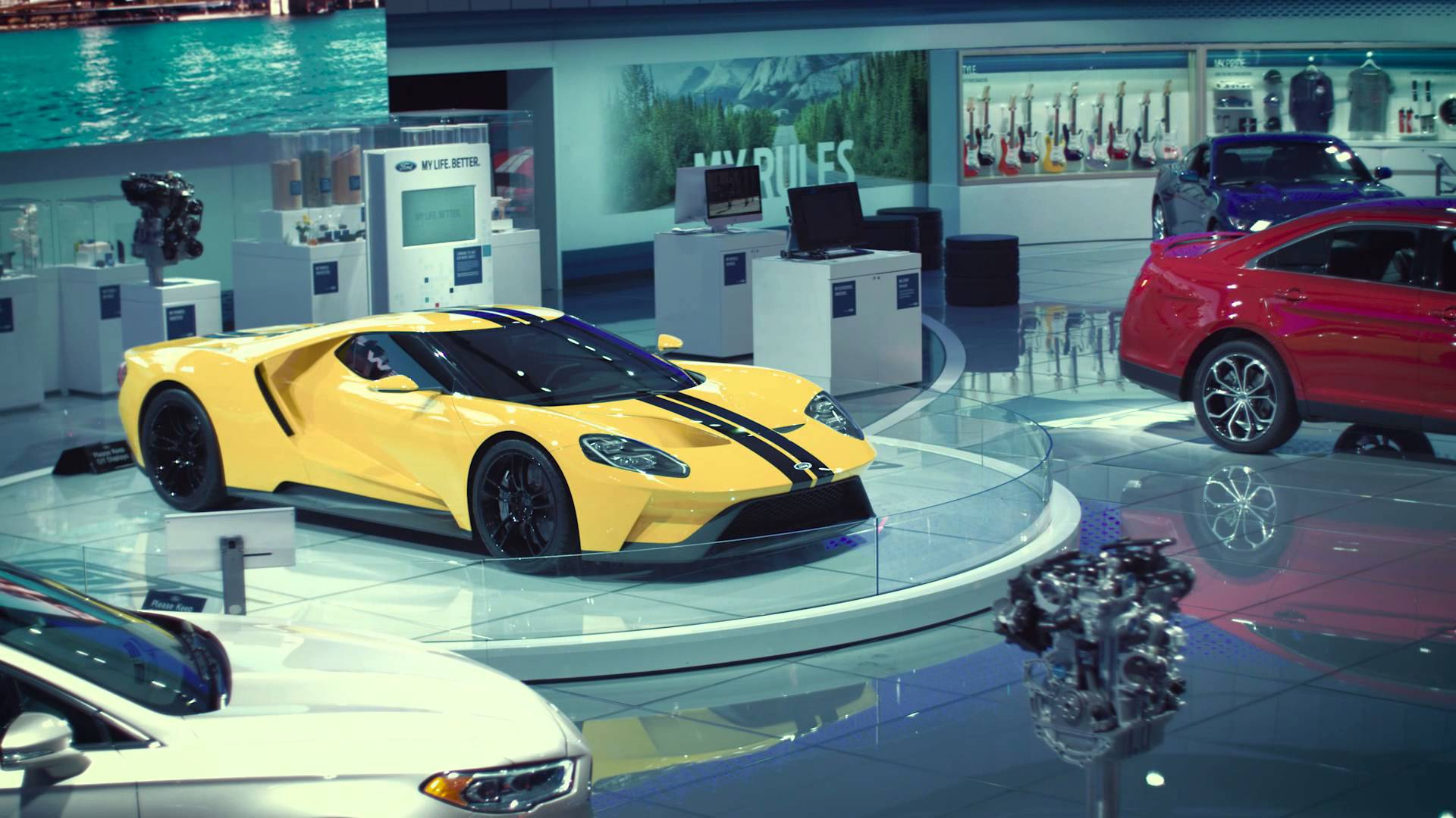 Cars Wallpapers: Car Exhibition Wallpapers High Quality