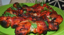 Chicken Tandoori Desktop Wallpaper Free