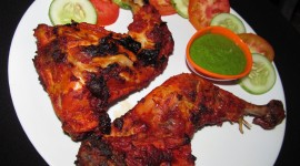 Chicken Tandoori Desktop Wallpaper HD