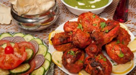 Chicken Tandoori Wallpaper