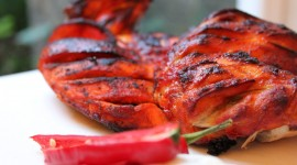 Chicken Tandoori Wallpaper Background