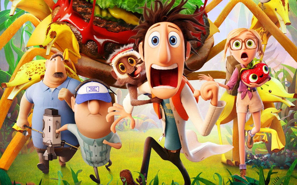 Cloudy With A Chance Of Meatballs 2 wallpapers HD