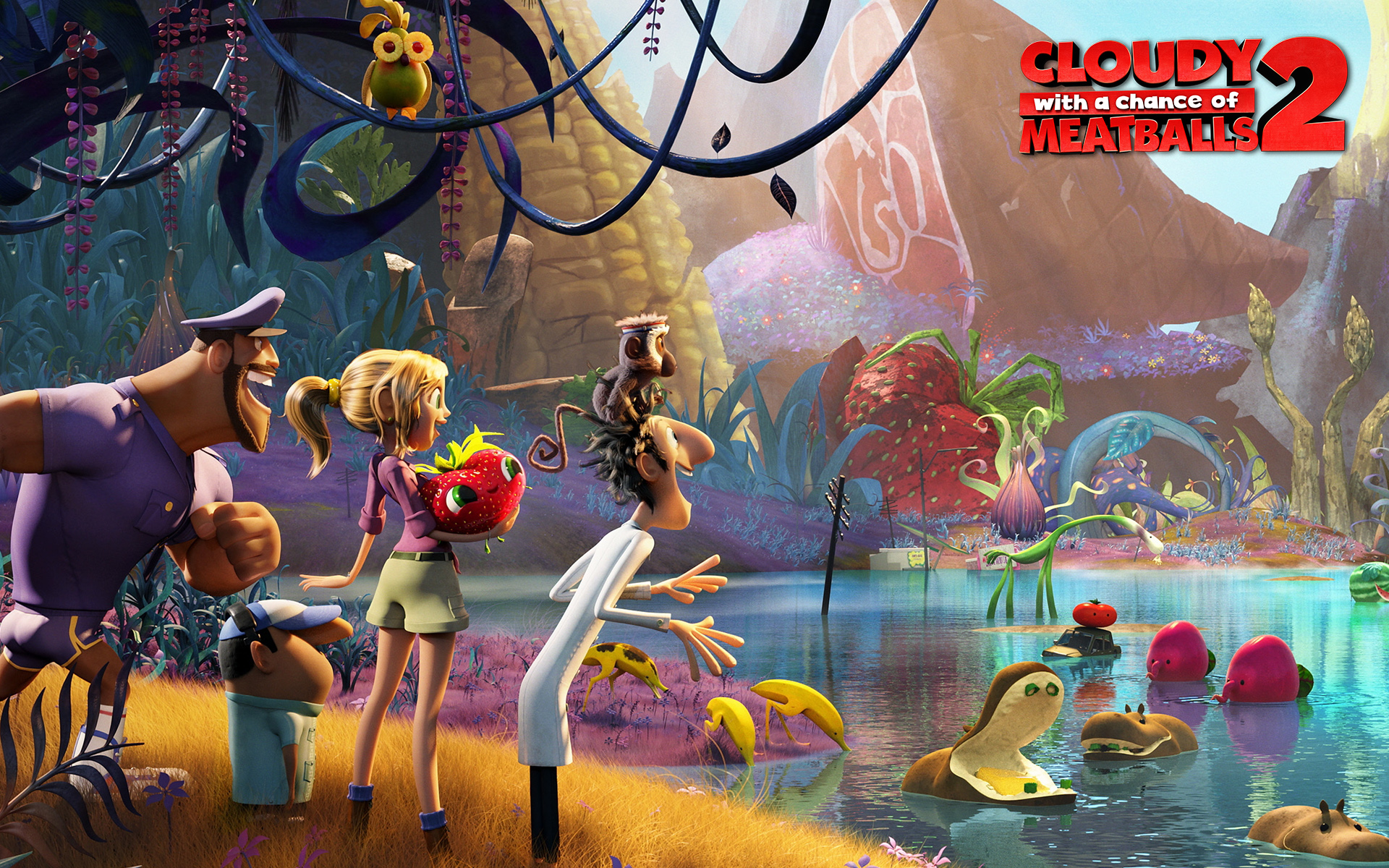 Cloudy with a chance of meatballs 2 (2013) rotten tomatoes.