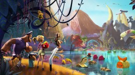 Cloudy With A Chance Of Meatballs 2 Wallpaper Gallery