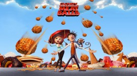Cloudy With A Chance Of Meatballs Wallpaper