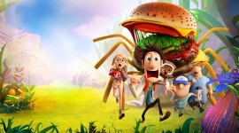 Cloudy With A Chance Of Meatballs Wallpaper HQ