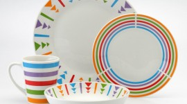 Colorful Dishes Desktop Wallpaper For PC