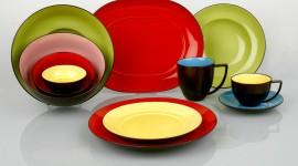 Colorful Dishes Desktop Wallpaper HD