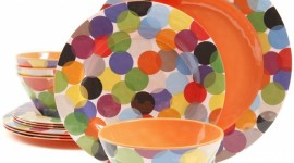 Colorful Dishes Wallpaper
