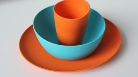 Colorful Dishes Wallpaper Free