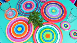 Colorful Dishes Wallpaper Gallery