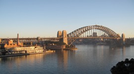 Dawn Bridge Desktop Wallpaper HD