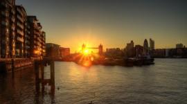 Dawn Bridge Wallpaper 1080p