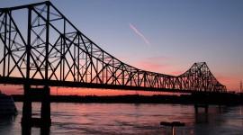 Dawn Bridge Wallpaper