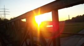 Dawn Bridge Wallpaper Full HD