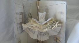 Dresses Made Of Paper Wallpaper
