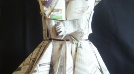 Dresses Made Of Paper Wallpaper For Android