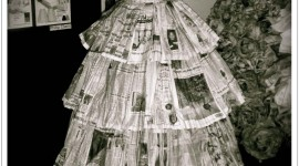 Dresses Made Of Paper Wallpaper For Android#1