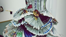 Dresses Made Of Paper Wallpaper For Android#3