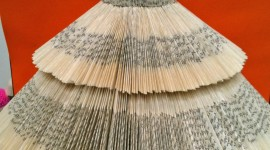 Dresses Made Of Paper Wallpaper For IPhone#3