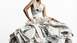 Dresses Made Of Paper Wallpaper For IPhone#4